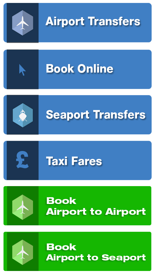 Airport Taxi Transfer from London Stansted Airport to London Heathrow Airport